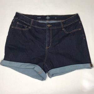 St. John's Bay denim shorts 16 EUC